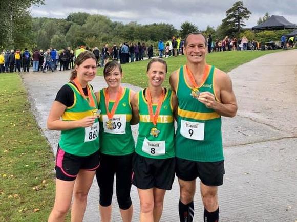 Hunts AC: 19/10/06 Colchester Stampede Half Marathon &emdash;